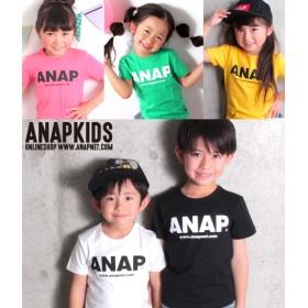 【セール開催中】ANAP KIDS(キッズ)5カラーシンプルロゴTシャツ