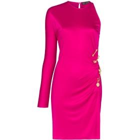 Versace ワンショルダー ドレス - ピンク