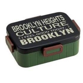 15%OFFクーポン対象商品 お弁当箱 4点ランチボックス ブルックリン 1段 900ml クーポンコード:CKJNNWW