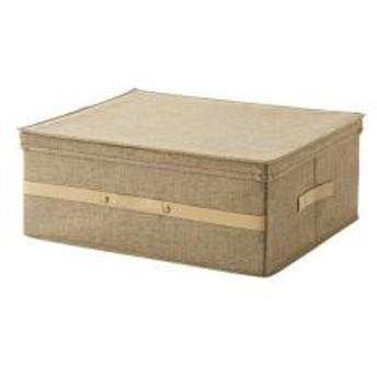 衣類収納ボックス プロフィックス 布製フリーボックス 43L 53×43cm ライトブラウン