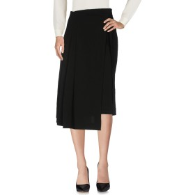 《セール開催中》ISABEL BENENATO レディース 7分丈スカート ブラック 40 バージンウール 100%