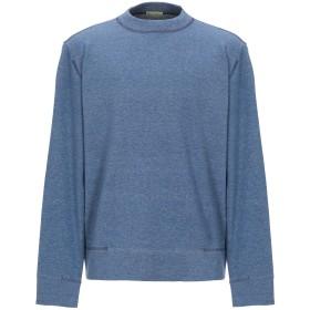 《セール開催中》PRIVATE LIVES メンズ スウェットシャツ アジュールブルー XL コットン 100%