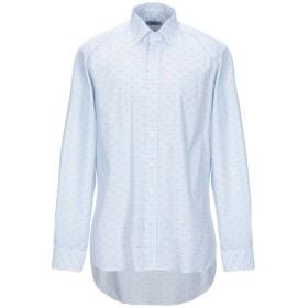 《送料無料》ETRO メンズ シャツ アジュールブルー 43 コットン 100%