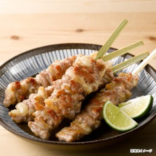 地鶏 鶏肉 三和の純鶏名古屋コーチン せせり焼鳥串(4本) 創業明治33年さんわ 鶏三和 未加熱