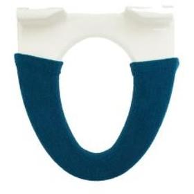 洗浄暖房用便座カバー ジオメトリー ブルー 【5%OFFクーポン利用可能】【コード:CP34TSW】