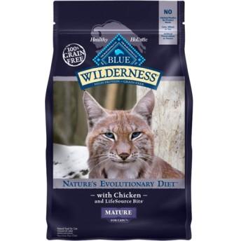 ウィルダネス シニア猫用 チキン (2.27kg)