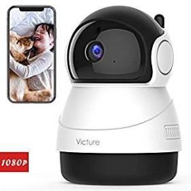 ネットワークカメラ WiFi IPカメラ 1080P FHD 200万画素  ワイヤレス屋内カメラ  防犯/監視カメラ ベビー/老人/ペット見守り MYR