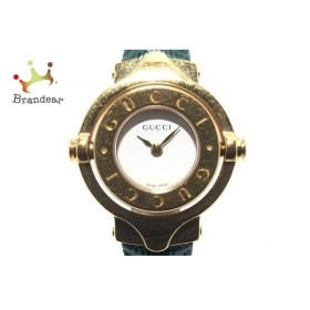 3c2e86ed73c5 グッチ GUCCI 腕時計 - レディース バングルウォッチ/回転文字盤 白 新着 20190522