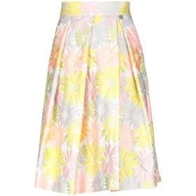 《セール開催中》MOUCHE レディース 7分丈スカート ビタミングリーン 44 ポリエステル 85% / ナイロン 15%