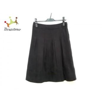 ニジュウサンク 23区 スカート サイズ38 M レディース 黒 プリーツ スペシャル特価 20190902