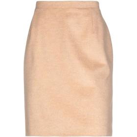 《期間限定セール開催中!》CLIPS レディース ひざ丈スカート サンド 50 毛(アンゴラ) 50% / ウール 48% / ナイロン 2%