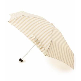 ITS' DEMO(イッツデモ) 晴雨兼用 ストライプ折り畳み傘