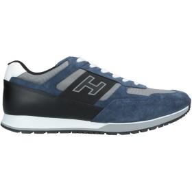 《9/20まで! 限定セール開催中》HOGAN メンズ スニーカー&テニスシューズ(ローカット) ブルー 5.5 革 / 紡績繊維