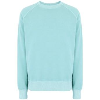 《期間限定セール開催中!》FORTELA メンズ スウェットシャツ ライトグリーン XL コットン 95% / ポリウレタン 5%