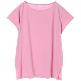 【オンワード】 koe(コエ) ・フレンチスリーブTシャツ Pink F レディース 【送料無料】