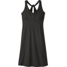 パタゴニア レディース ワンピース トップス Womens Magnolia Spring Dress XS - Black - Discontinued