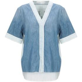 《期間限定セール開催中!》GOLDEN GOOSE DELUXE BRAND レディース デニムシャツ ブルー XS コットン 100%