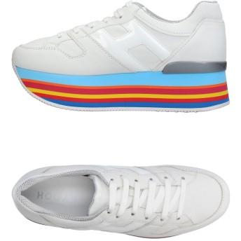 《セール開催中》HOGAN レディース スニーカー&テニスシューズ(ローカット) ホワイト 36.5 革