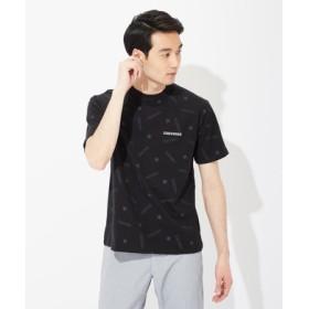 CONVERSE ロゴデザインTシャツ メンズ *ブラック