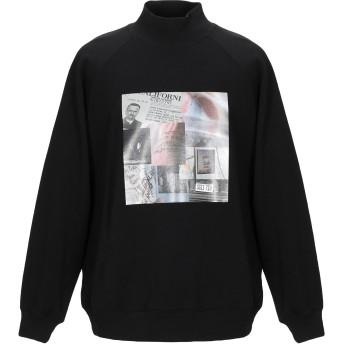 《期間限定セール開催中!》BONSAI メンズ スウェットシャツ ブラック L コットン 95% / ポリウレタン 5%