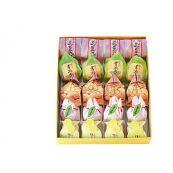 014-007信州上田果詩集 和菓子の詰め合わせ(20個入り)