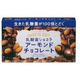 スイーツデイズ 乳酸菌ショコラ アーモンドチョコレート ( 86g )