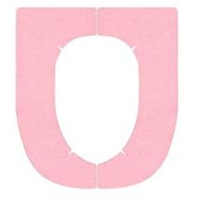 便座カバー 便座シート 消臭すきまなしベンザシート おくだけ吸着 ピンク