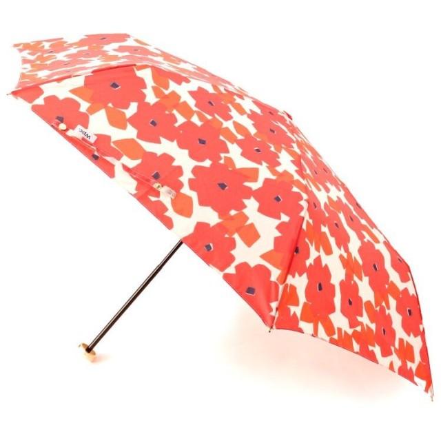 ITS' DEMO(イッツデモ) 晴雨兼用 フラワー柄折り畳み傘