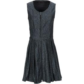 《セール開催中》TRUSSARDI JEANS レディース ミニワンピース&ドレス ブルー 40 ポリエステル 77% / 金属繊維 23%