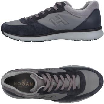 《セール開催中》HOGAN メンズ スニーカー&テニスシューズ(ローカット) グレー 5.5 革