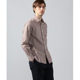 トゥモローランド コットンシェニール セミワイドカラーシャツ メンズ 46ブラウン系 L 【TOMORROWLAND】