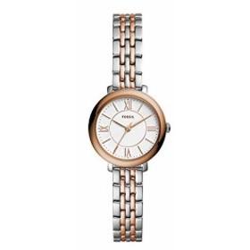 【当店1年保証】フォッシルFossil Women's Jacqueline Mini - ES4612 Rose Gold/Silver One Size
