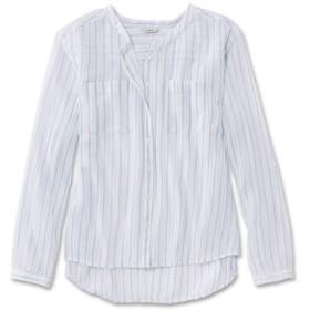 ジャパン・フィット コットン・クリンクル・シャツ、長袖 ストライプ/Japan Fit Cotton Crinkle Shirt Long-Sleeve Stripe