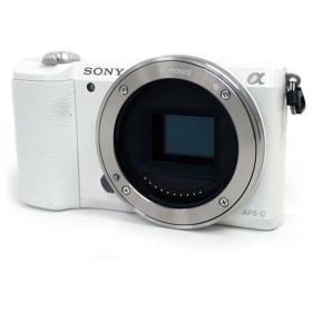 【中古】SONY デジタル一眼 α5100 ボディ ILCE-5100/W ホワイト