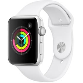 AppleApple Watch Series 3(GPSモデル)- 42mmシルバーアルミニウムケースとホワイトスポーツバンドMTF22J/A