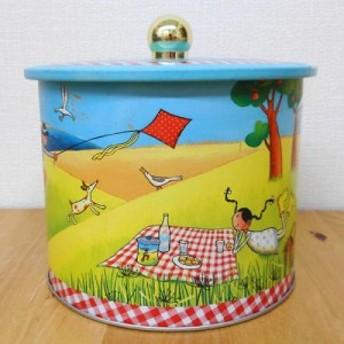 ラ・トリニテーヌ ピクニック バレル缶 フランンス製・ビスケット缶入り菓子 輸入菓子