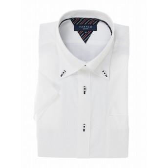 [マルイ] 形態安定スリムフィットドゥエボタンダウン半袖シャツ/タカキュー(TAKA-Q)