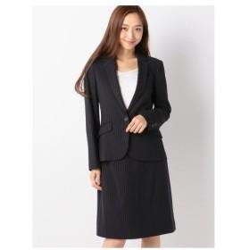 MEW'S REFINED CLOTHES(ミューズ)あったかストライプスーツセット《入学式/卒業式/フォーマル/セレモニー》