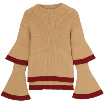 [PAMEO POSE]Bell Sleeve Knit Top