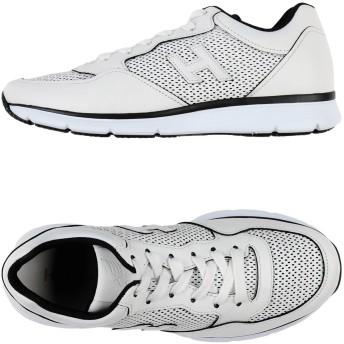 《セール開催中》HOGAN メンズ スニーカー&テニスシューズ(ローカット) ホワイト 5 革