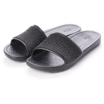 クロックス crocs 205605 スローン オンブレ ディアマンテ スライド (ブラック)