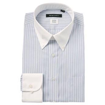 【THE SUIT COMPANY:トップス】【SUPER EASY CARE】クレリック&ボタンダウンカラードレスシャツ 〔EC・BASIC〕