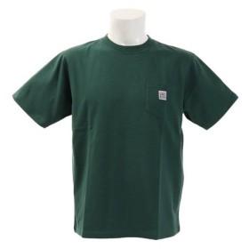 VISION 胸ポケット付き 半袖Tシャツ 9523100-50DGR (Men's)