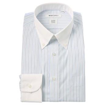 【THE SUIT COMPANY:トップス】【SUPER EASY CARE】クレリック&ボタンダウンカラードレスシャツ 〔EC・FIT〕