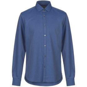 《期間限定セール開催中!》BORSA メンズ シャツ ブルー 40 コットン 100%