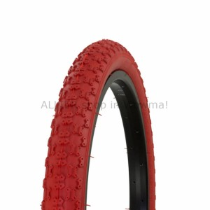 18 x2.125 Comp III All Red BMX tire by Duro