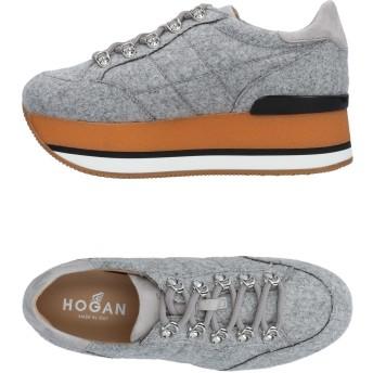 《期間限定セール開催中!》HOGAN レディース スニーカー&テニスシューズ(ローカット) ライトグレー 35 紡績繊維