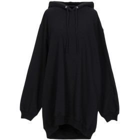 《期間限定セール開催中!》MSGM レディース スウェットシャツ ブラック M コットン 100%