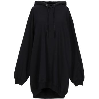 《セール開催中》MSGM レディース スウェットシャツ ブラック M コットン 100%