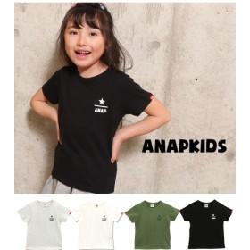 ANAP KIDS&HOME(アナップ キッズ&ホーム)/ワンポイントロゴTシャツ